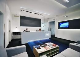 Biuro w nowoczesnym stylu