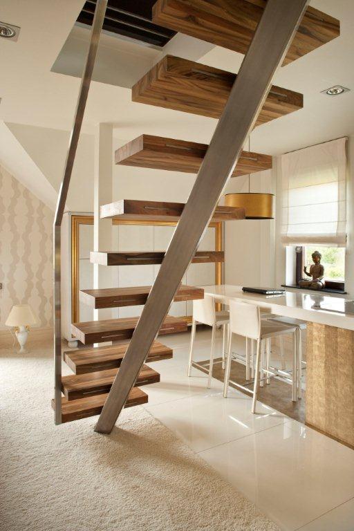 aranżacja salonu z kuchni� w bieli inspiracja homesquare