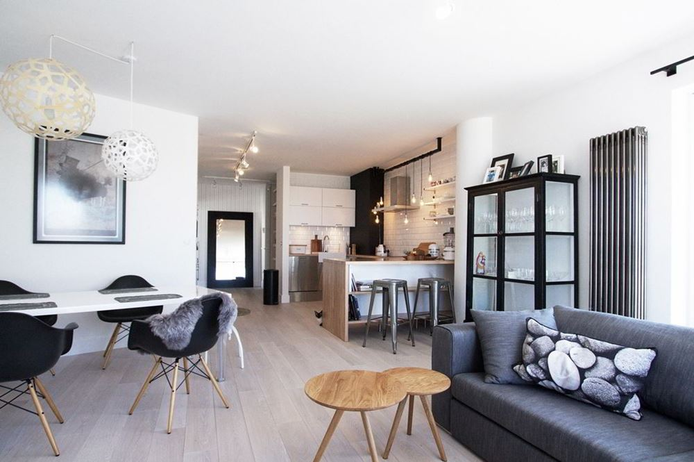 Nowoczesny styl skandynawski w salonie homesquare - Blog di interior design ...