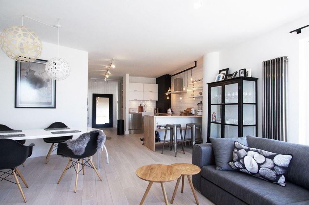nowoczesny styl skandynawski w salonie homesquare. Black Bedroom Furniture Sets. Home Design Ideas