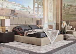 Sypialnia w eklektycznym stylu