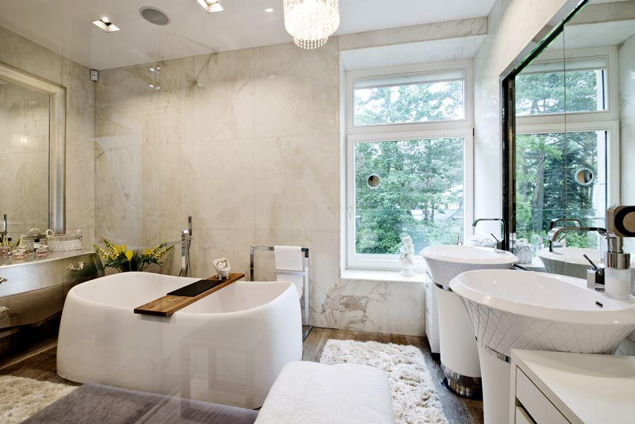 Szykowna łazienka W Stylu Modern Classic Inspiracja