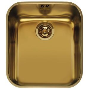 Zlewozmywak podwieszany SMEG UM45OT CORTINA złoty