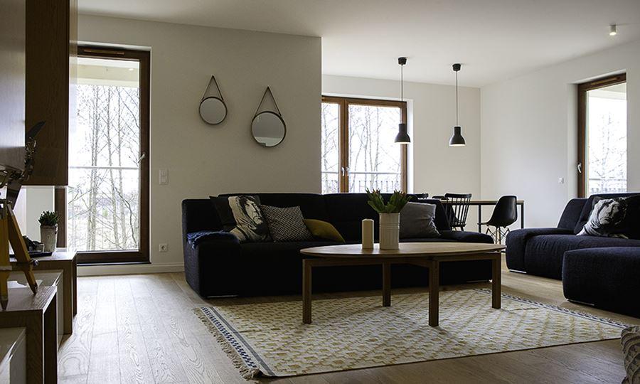 Nowoczesny Salon W Drewnie Inspiracja Homesquare