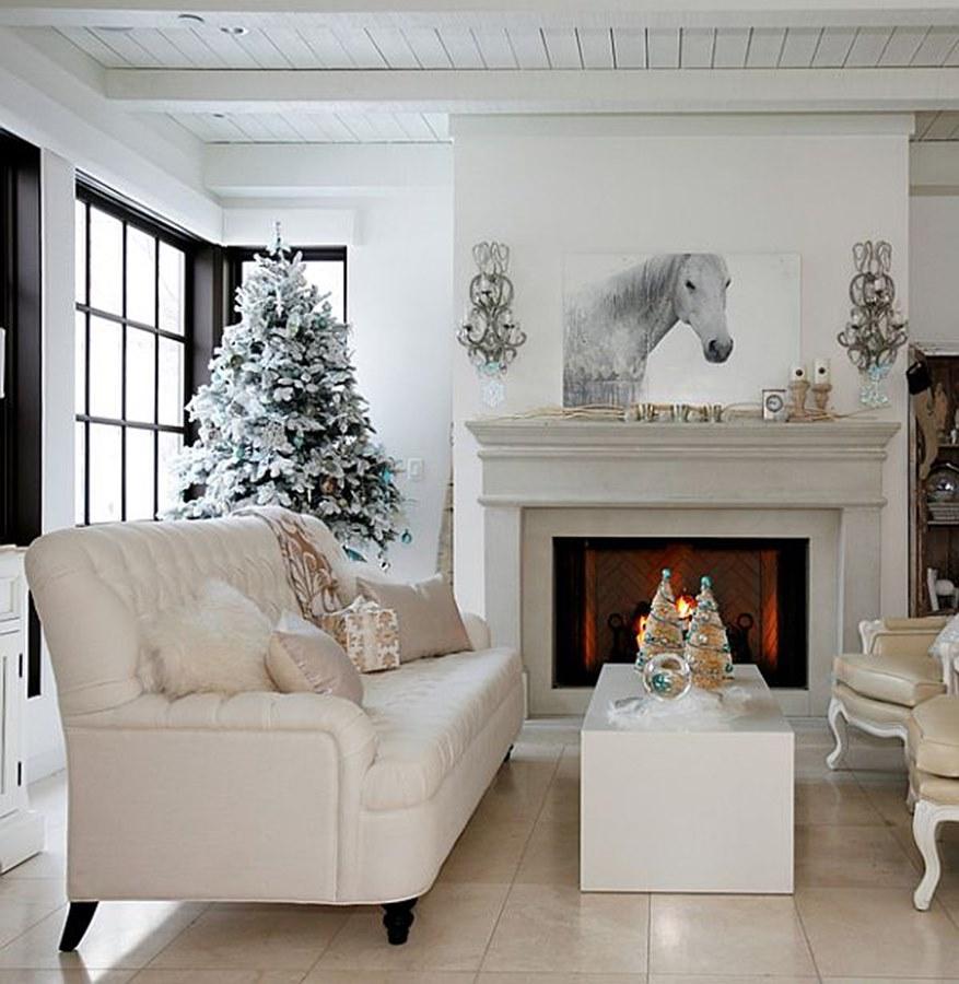 zimowe ozdoby w domu