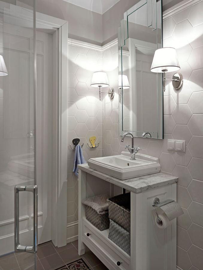Oryginalne Kafelki Do Białej łazienki Inspiracja Homesquare