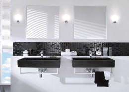 Minimalistyczne łazienki