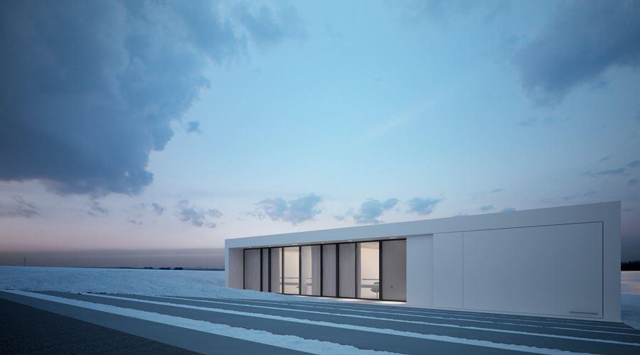 Dom w minimalistycznym stylu