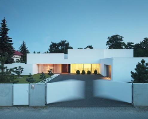 Dom na linii horyzontu