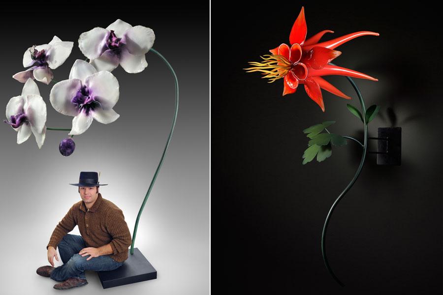 Kwiaty ze szkła
