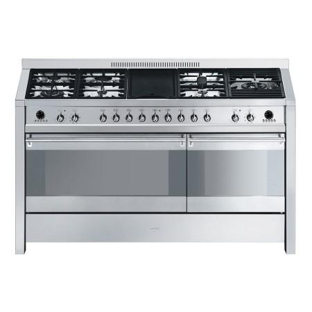 Kuchnia wolnostojąca gazowa z grillem SMEG A5-8 8017709154844