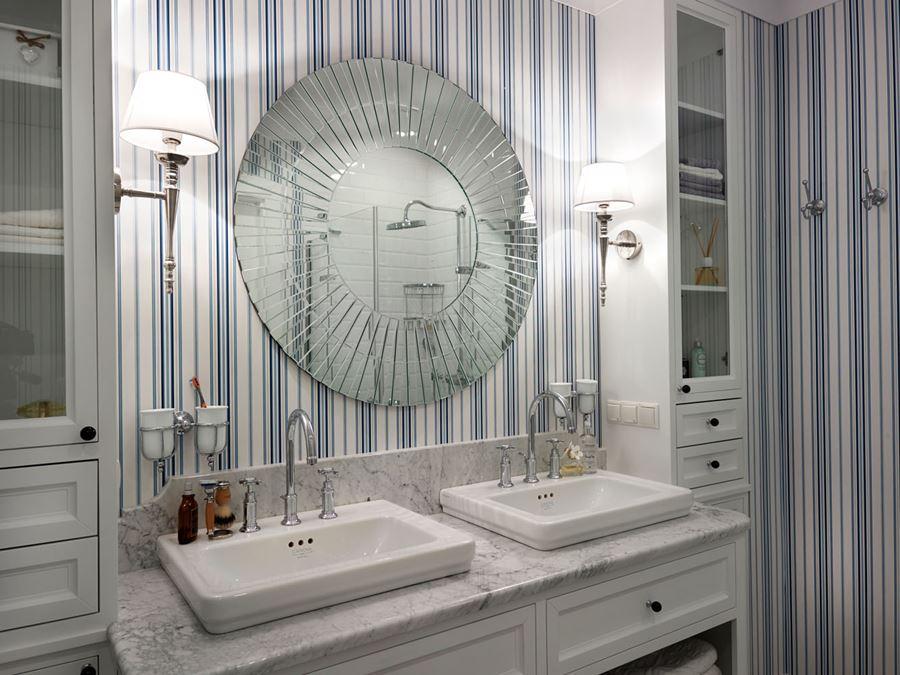 Aranżacja sypialni z łazienką