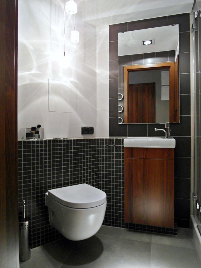 ma�a �azienka z prysznicem inspiracja homesquare