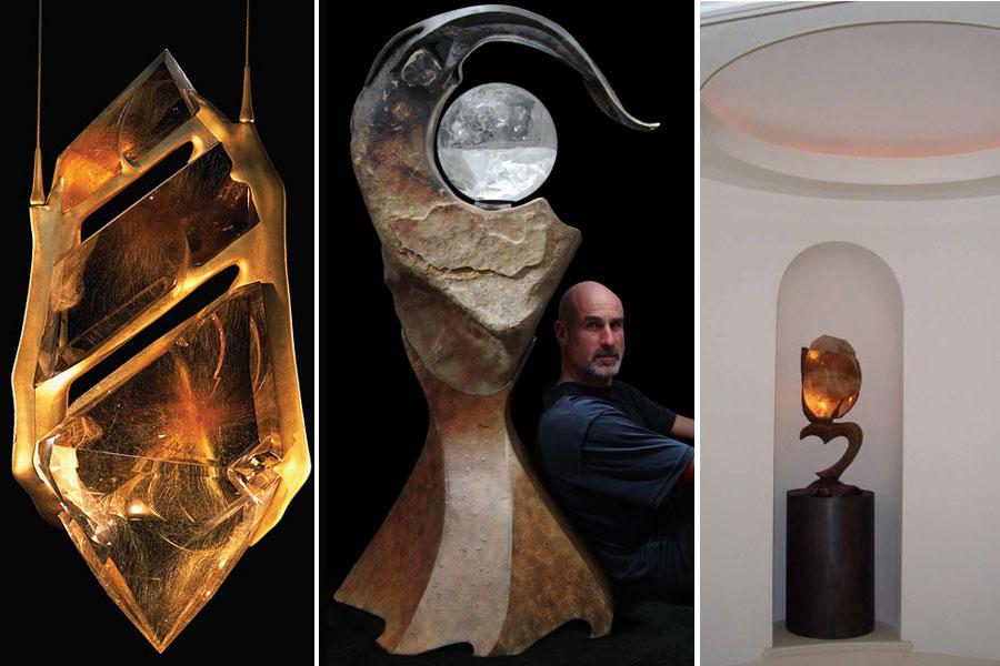 Kryształowe rzeźby