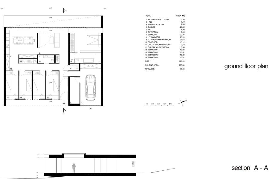 Plan Reykjavik house