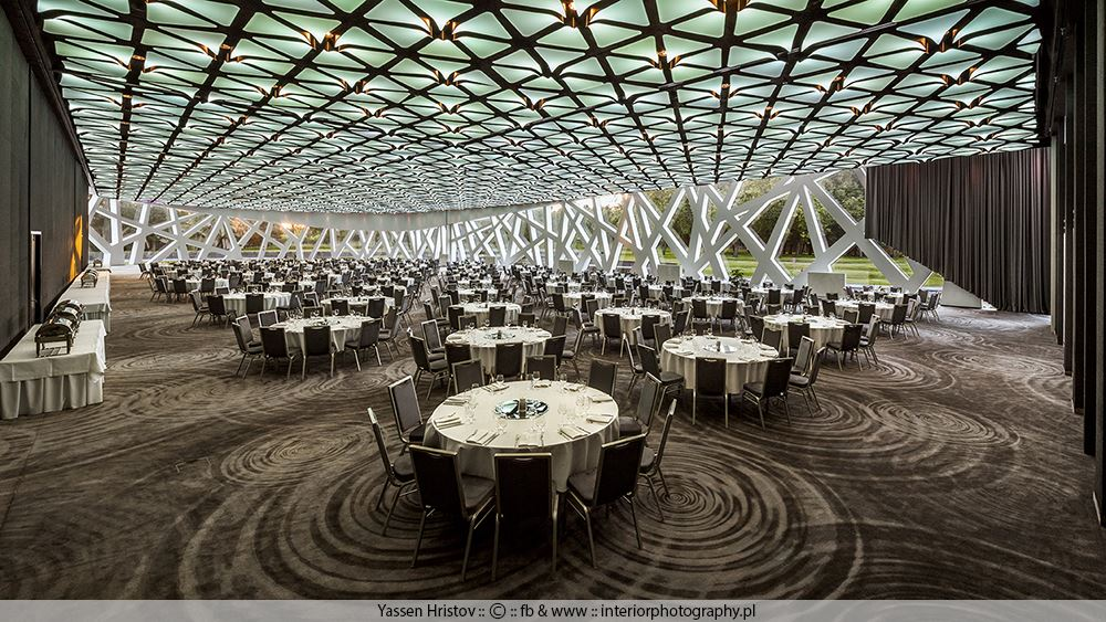 Sala Bankietowa Architektura Wnętrza Technologia