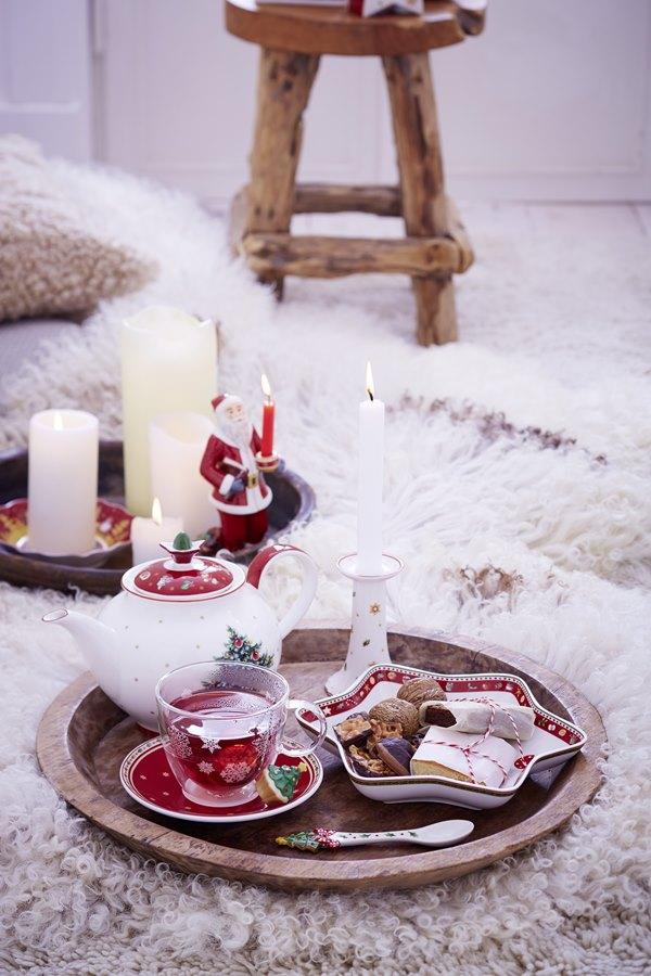 Dekoracje stołu świątecznego