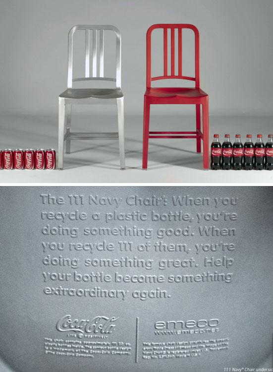 111 Navy Chair Coca Cola