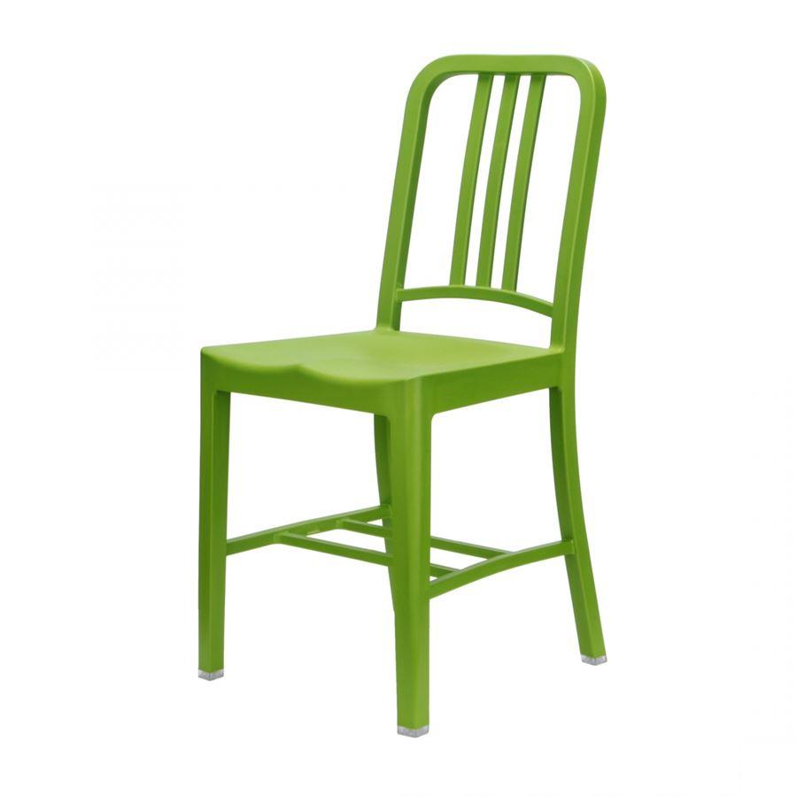 Zielone krzesło 111 Navy