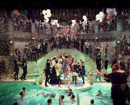 Wielki Gatsby - basen
