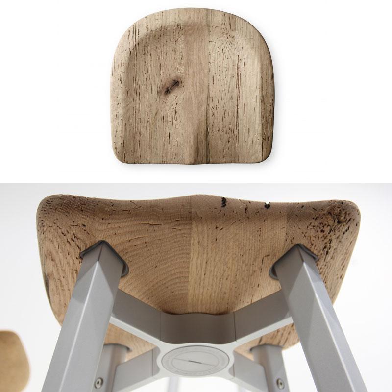 Krzesło z drewna