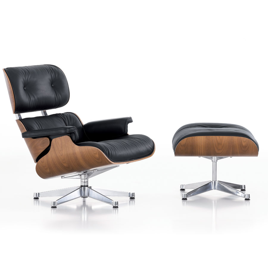 eames lounge chair ottoman vitra architektura wn trza technologia design homesquare. Black Bedroom Furniture Sets. Home Design Ideas