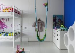 Piętrowe łożko dla dzieci
