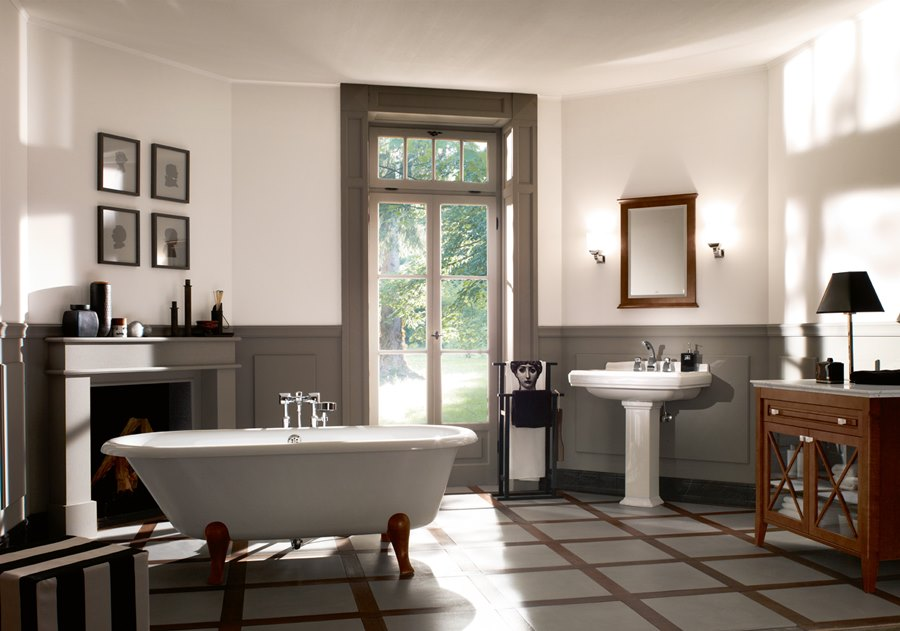 Francuski styl w azience chic a la fran aise architektura wn trza tec - Decoration a la francaise ...