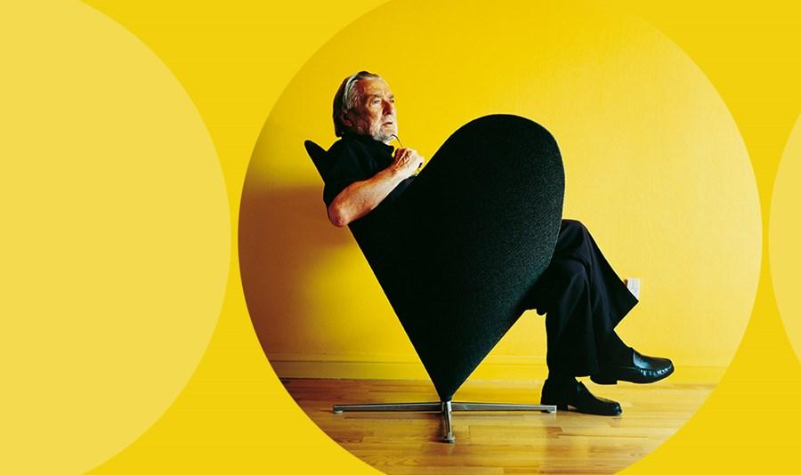 panton chair plastikowa ikona pop art u architektura wn trza technologia design homesquare. Black Bedroom Furniture Sets. Home Design Ideas