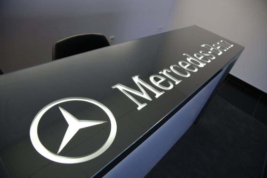 Logotyp Mercedes Benz