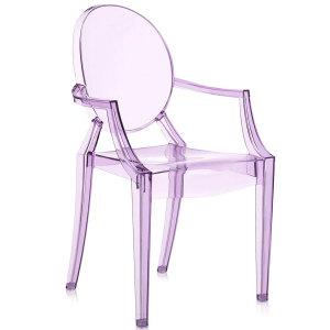 Lou Lou Ghost chair purple bimbi