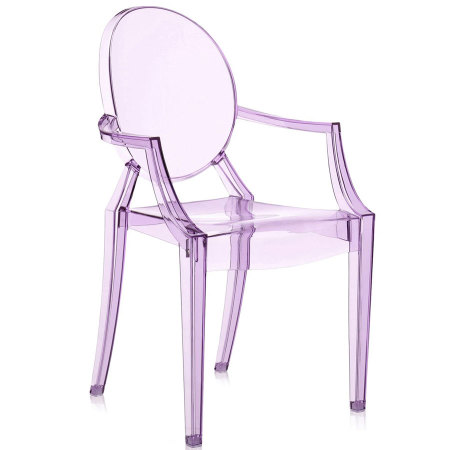 Lou Lou Ghost chair purple bimbi