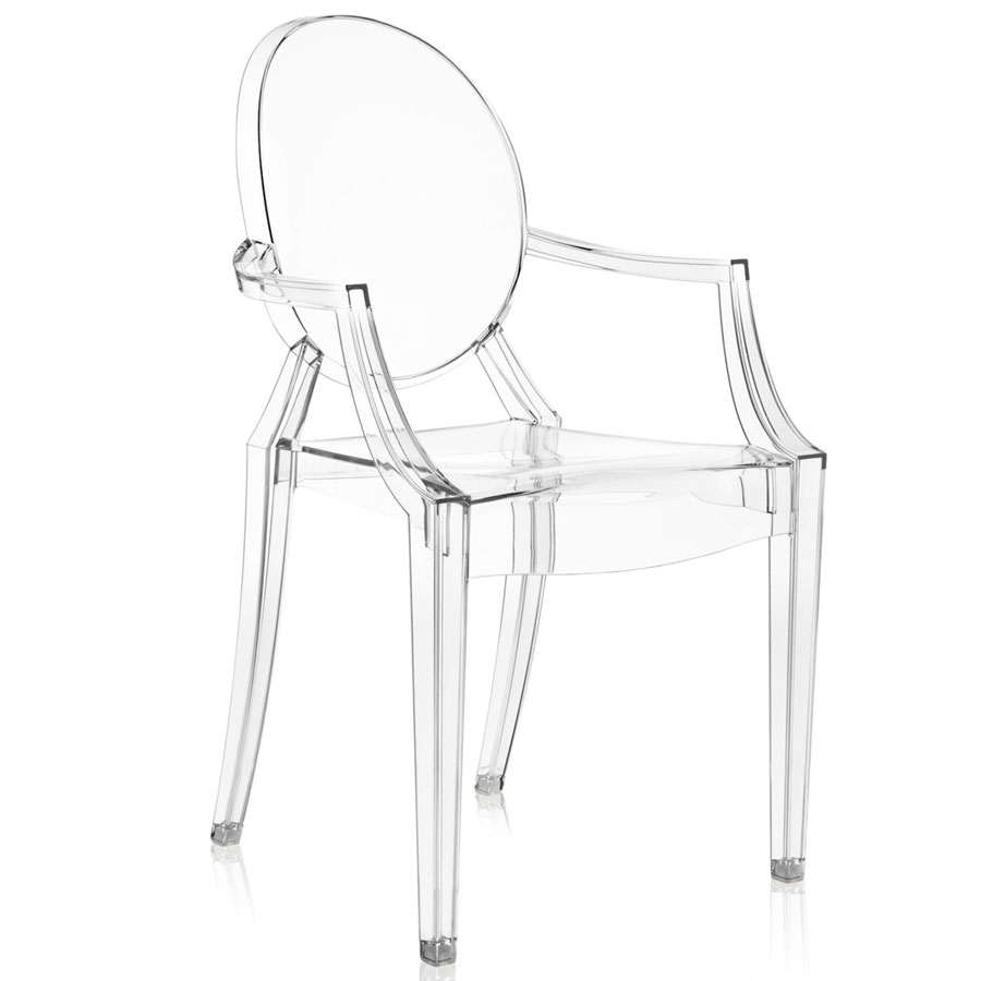 Louis Ghost Chair crystal