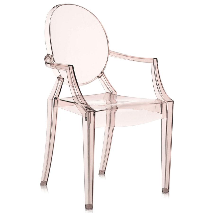 Louis Ghost chair orange