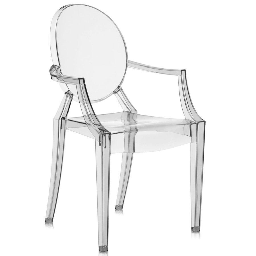 Louis Ghost chair pale fume