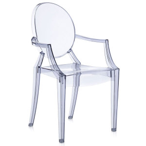 Louis Ghost chair sea blue
