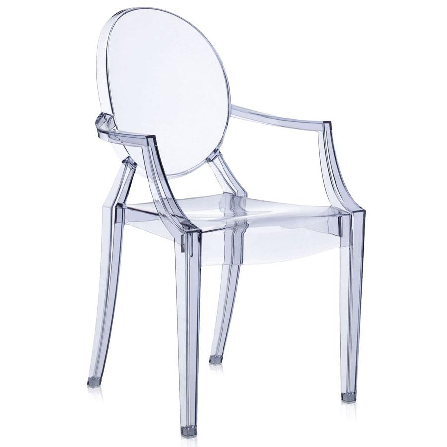 Louis Ghost chair sea blue