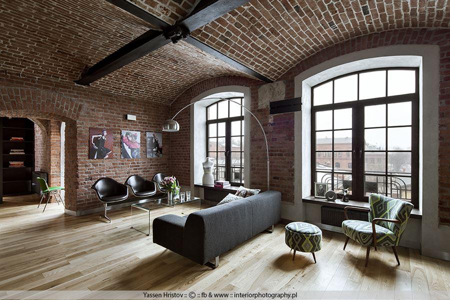 Łukowy strop