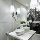 Subtelne oświetlenie łazienki