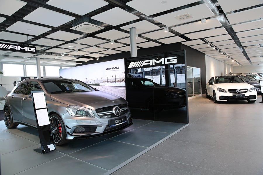 Nowoczesne salon samochodowy