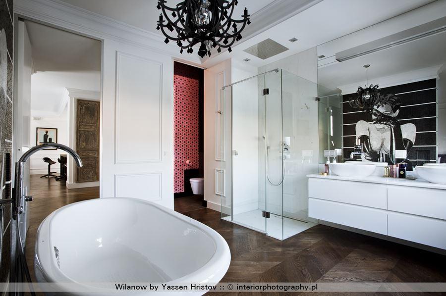Pokój kąpielowy otwarty na sypialnię - Architektura, wnętrza, technologia, design - HomeSquare