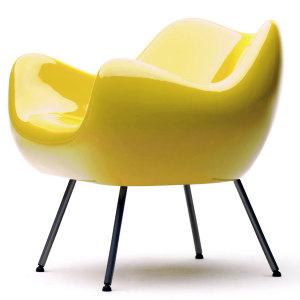 Fotel RM58 classic zolty
