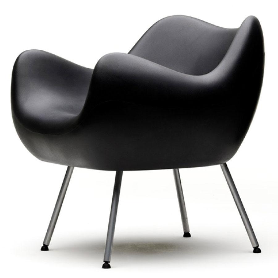 Fotel RM58 mat czarny