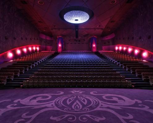 Aranżacja sali kinowej