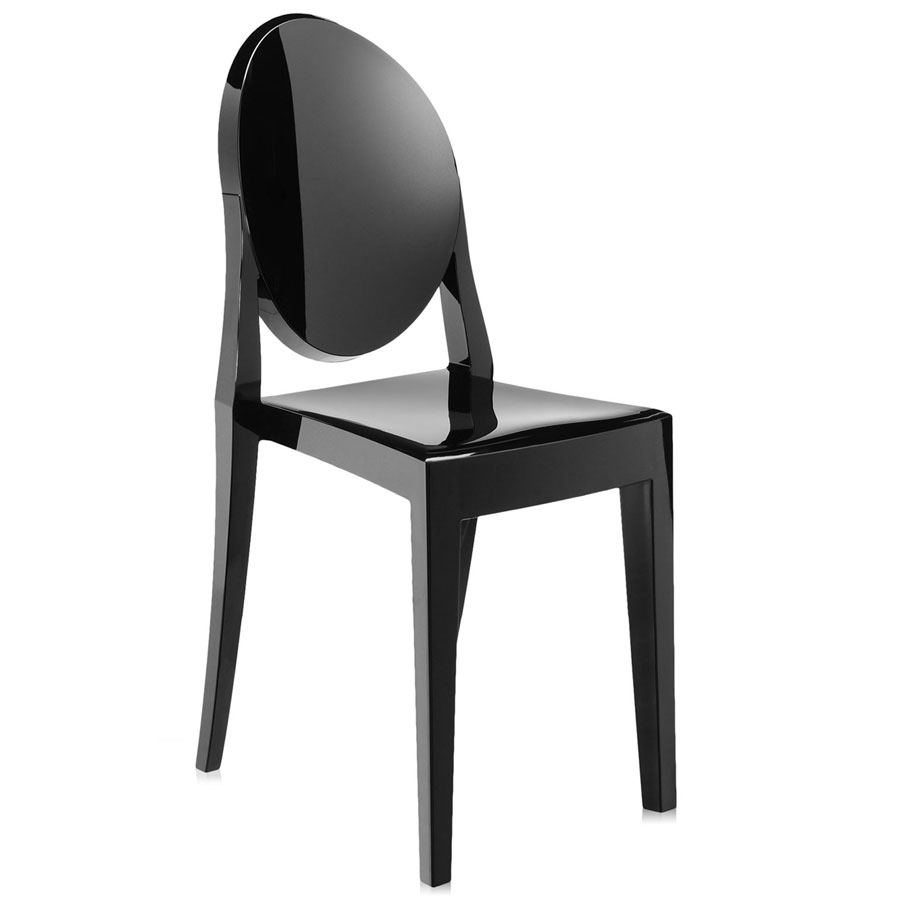 Victoria Ghost chair heavy black