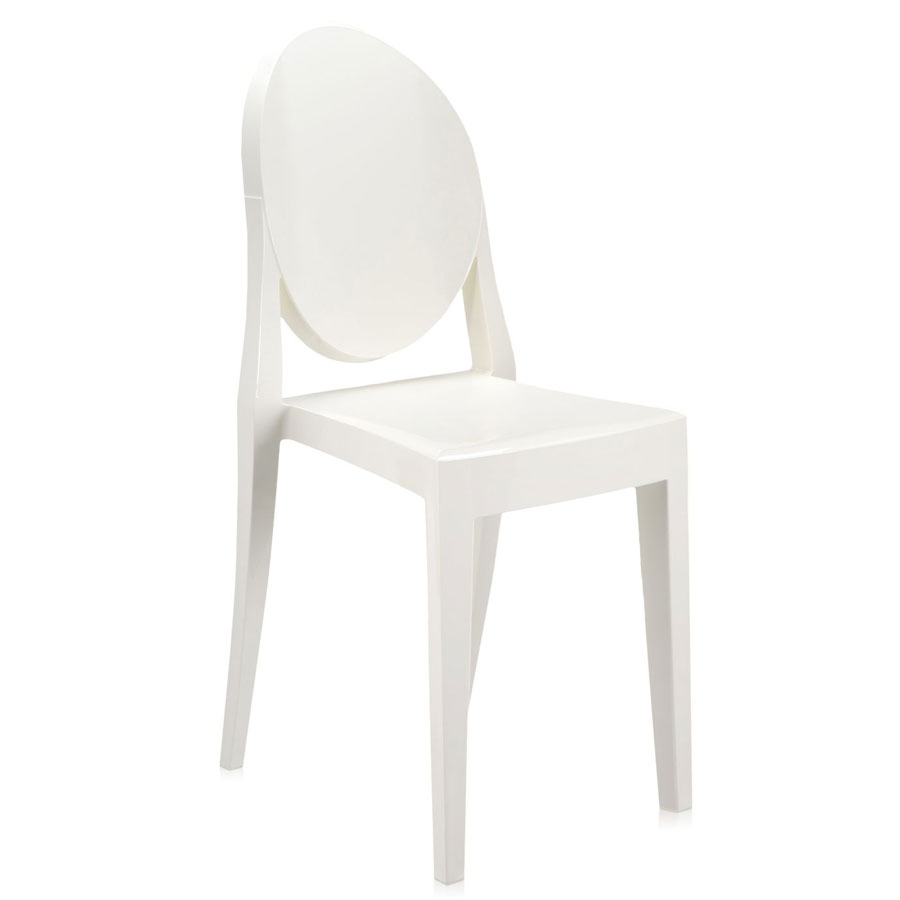 Victoria Ghost chair heavy white