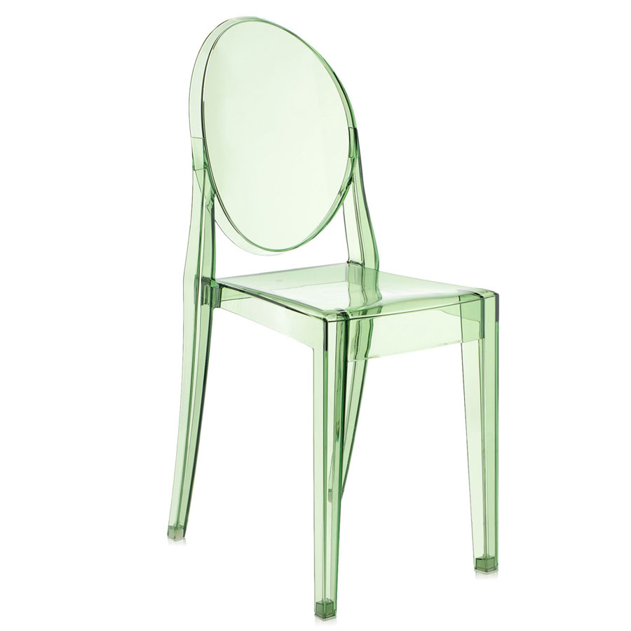 Victoria Ghost chair transparent green