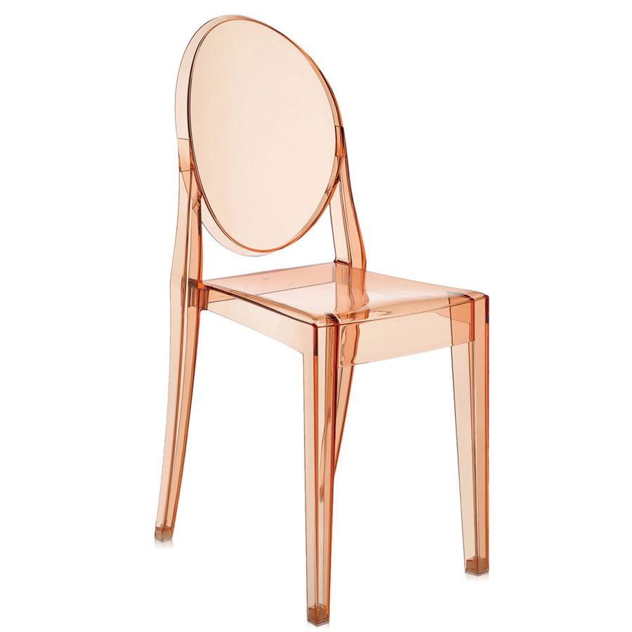 Victoria Ghost chair transparent pink