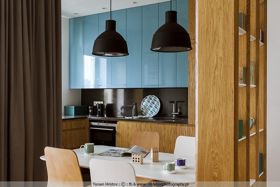 Niebieskie meble kuchenne - jak urządzić kuchnię