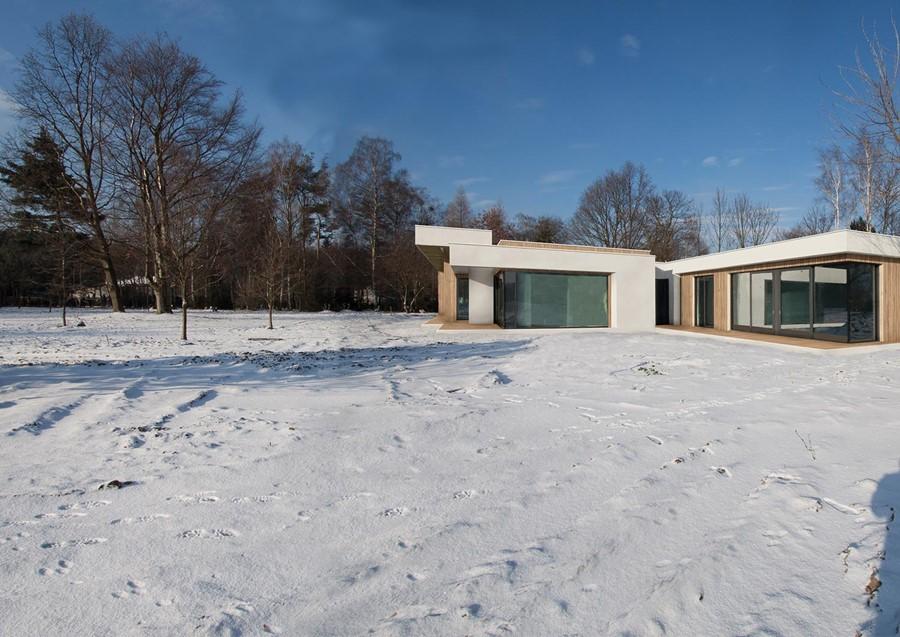 Projekt nowoczesnego domu parterowego
